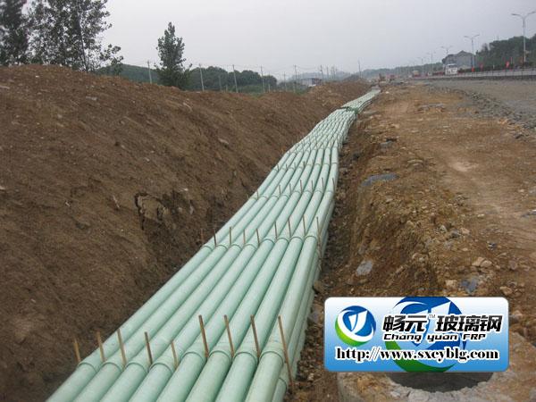 陕西商洛玻璃钢电缆保护管工程图.jpg